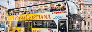 Image result for Open Bus ROma Cristiana Benvenuti