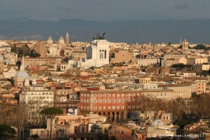 View of Rome from the Janiculum