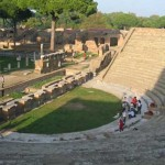 Ancient Ostia Theatre