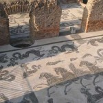 Mosaics of Neptune in Ostia