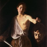 Caravage, David portant la tete de Goliath